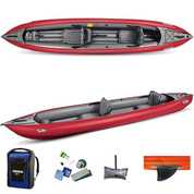 KAYAK GUMOTEX SOLAR ROUGE 2 PLACES