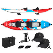 KAYAK GONFLABLE AQUA MARINA STEAM 2 PERSONNES 2020