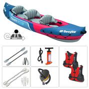 PACK KAYAK SEVYLOR TAHITI PLUS 3 PLACES