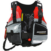 GILET AQUADESIGN TRISULI 70N ROUGE