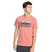 T-SHIRT QUIKSILVER DREAMERS OF THE SHORE CORAIL