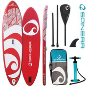 PACK SUP GONFLABLE SPINERA SUPVENTURE ROUGE