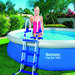 PISCINE AUTOPORTANTE 366 x 91 cm RONDE BESTWAY + KIT DINSTALLATION 57277