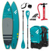 PADDLE FANATIC RAY AIR 13.6x35 PREMIUM 2021 GONFLABLE + PAGAIE CARBONE C35 COMPLET