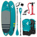 PADDLE FANATIC FLY AIR 10.8 PREMIUM 2021 GONFLABLE + PAGAIE CARBONE C35 COMPLET