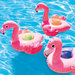 PORTE VERRE GONFLABLE FLAMANT ROSE INTEX LOT DE 3