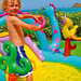 AIRE DE JEUX DINOLAND PLAY CENTER INTEX 57135NP