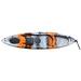 KAYAK MARGOUILLET 1 PLACE FISHING GREY/ORANGE