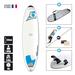 SURF BIC DURA-TEC 7.3 MINI-MALIBU