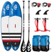 PACK PADDLE GONFLABLE FANATIC FLY AIR STRINGER 9.8 + FANATIC FLY AIR STRINGER 10.4 2018