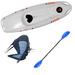 Pack kayak Tahe Ouassou gris 1 place gris | Kayak Bic Ouassou | Kayak rigide