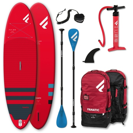 PADDLE GONFLABLE FANATIC FLY AIR 10.8 PURE ROUGE 2021