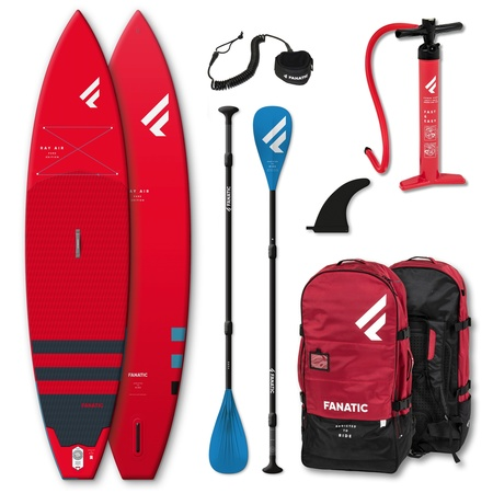 PADDLE GONFLABLE FANATIC RAY AIR 11.6 x 31 PURE ROUGE 2021