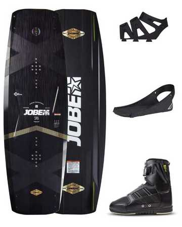 WAKEBOARD JOBE CONFLICT 142 & CHAUSSES DRIFT SET 2019