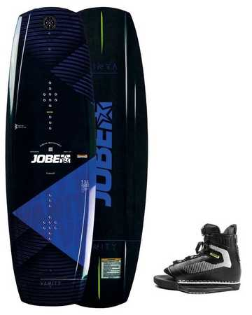 WAKEBOARD JOBE VANITY 136 & CHAUSSES MAZE SET 2019 STAND