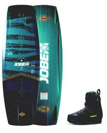 JOBE PITCH WAKEBOARD 136 & CHAUSSES NITRO SET