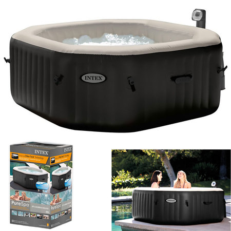 SPA GONFLABLE INTEX PURE SPA JETS ET BULLES 4 PLACES 28454EX