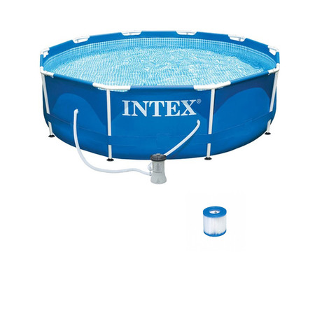 PISCINE TUBULAIRE INTEX METAL FRAME 3,05 X 0,76 M 28202NP
