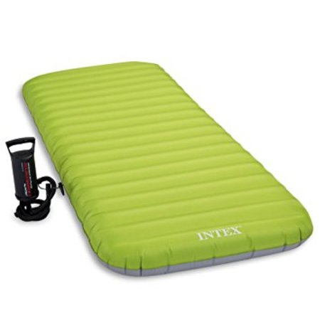AIRBEDS MATELAS GONFLABLE ROLL'N GO AVEC POMPE INTEX 64780