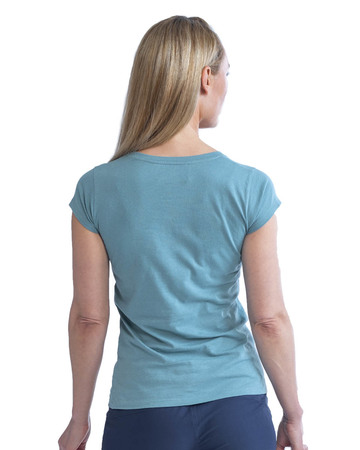 T-SHIRT JOBE CASUAL FEMME TURQUOISE