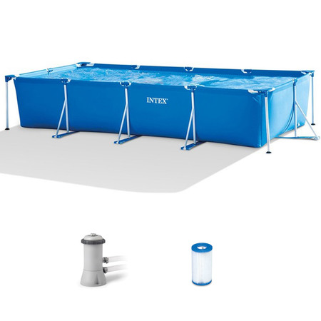 PISCINE TUBULAIRE INTEX METAL FRAME 4,50 X 2,20 X 0,84 M 28274FR