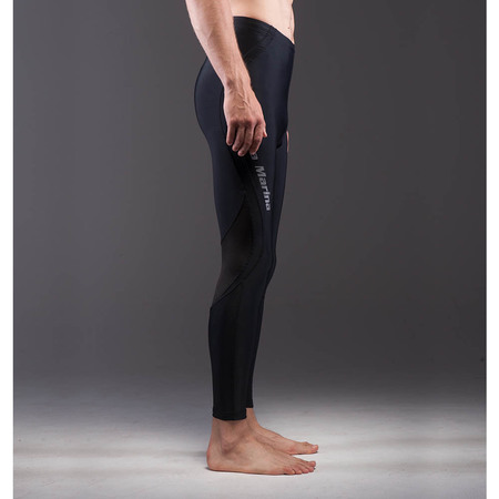 PANTALON LYCRA DIVISION BLACK MEN