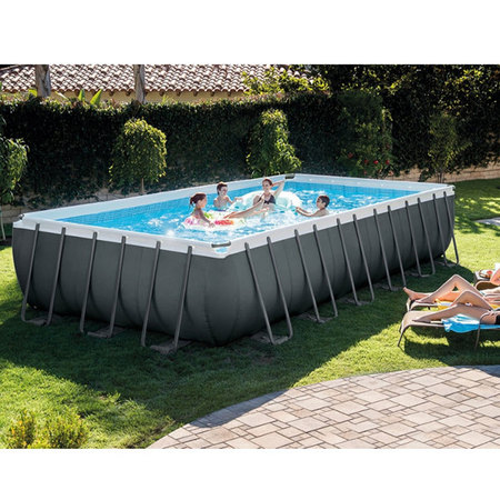 PISCINE INTEX TUBULAIRE RECTANGULAIRE ULTRA XTR 7.3x3.66x1.32M