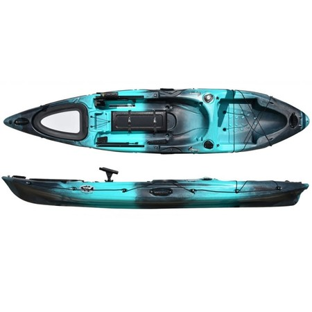 PACK KAYAK RTM PECHE ABACO 420 BIG BANG STD STEEL