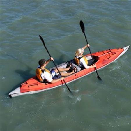 KAYAK ADVANCED ELEMENTS FRAME CONVERTIBLE ROUGE SANS DECK COVER ROUGE