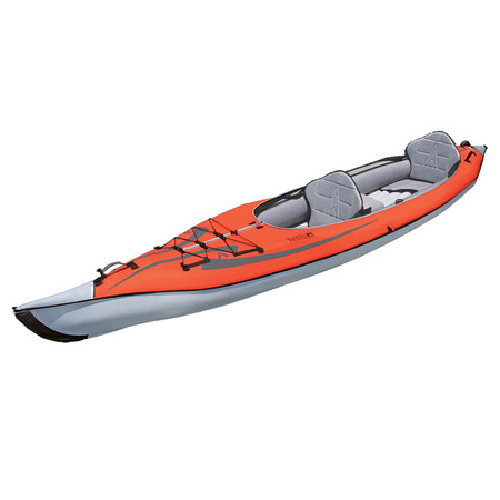 KAYAK GONFLABLE ADVANCED ELEMENTS FRAME CONVERTIBLE ROUGE