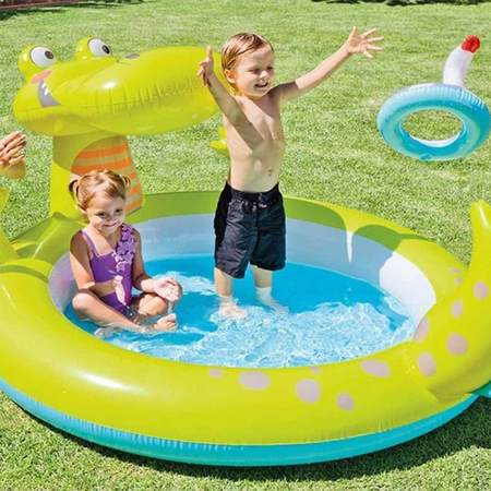 PISCINE GONFLABLE INTEX ALLIGATOR 57431NP