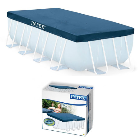 BACHE POUR PISCINE RECTANGULAIRE 4 X 2 M INTEX 28037