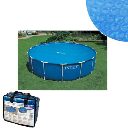 bache a bulles pour piscine ronde diametre 5m49 intex pas cher en vente sur stock. Black Bedroom Furniture Sets. Home Design Ideas