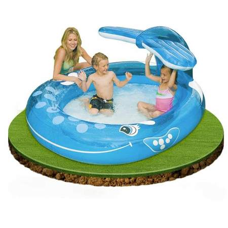 PISCINE GONFLABLE INTEX BALEINE 57435NP