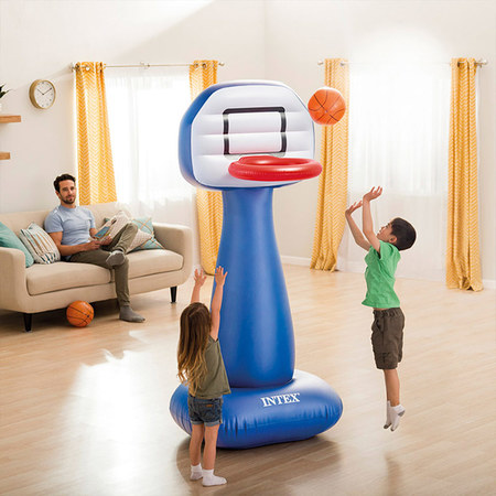 PANNEAU DE BASKET GONFLABLE INTEX SHOOTIN HOOPS SET 57502NP