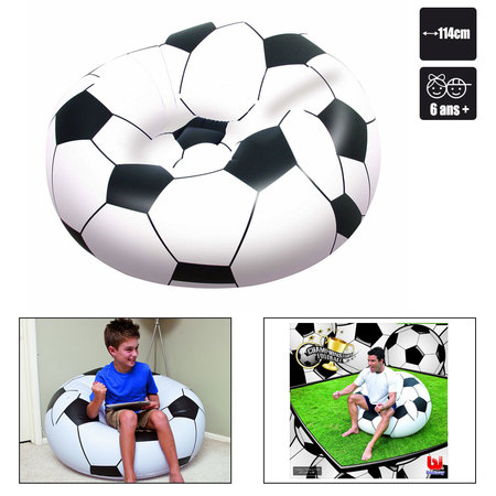 FAUTEUIL GONFLABLE FOOTBALL BESTWAY 114 CM 75010