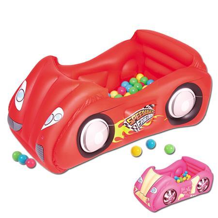 aire de jeux voiture gonflable avec balle bestway pas cher en vente sur stock. Black Bedroom Furniture Sets. Home Design Ideas