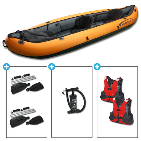 KAYAK HYDRO FORCE VENTURA 330 BESTWAY GONFLABLE