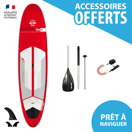 SUP BIC ACE TEC 11.6 PERFORMER RED 2017