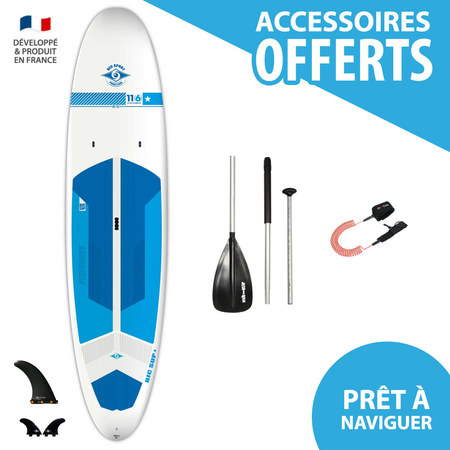 SUP BIC ACE TEC 11.6 PERFORMER WHITE 2017