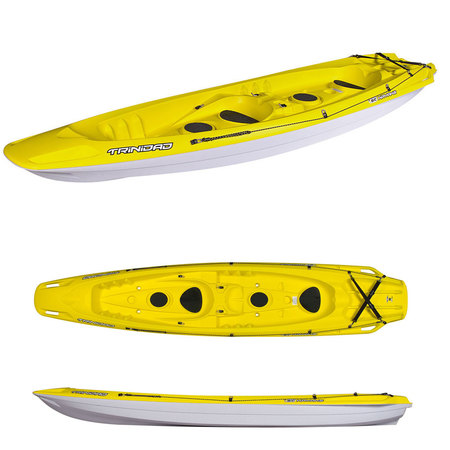 KAYAK BIC TRINIDAD SIT ON TOP + 2 PAGAIES + 2 DOSSIERS