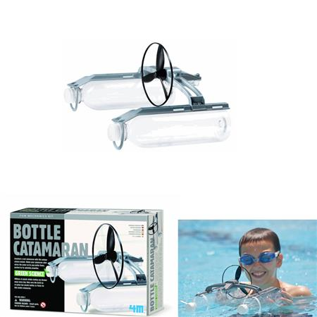JEU DE PISCINE BOTTLE CATAMARAN KIDZLABS GREEN SCIENCE