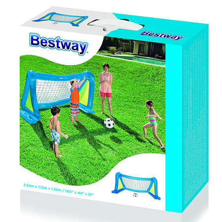 BUT DE FOOTBALL + 2 BALLONS BESTWAY 52215