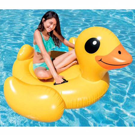 CANARD JAUNE CHEVAUCHABLE INTEX 57556NP