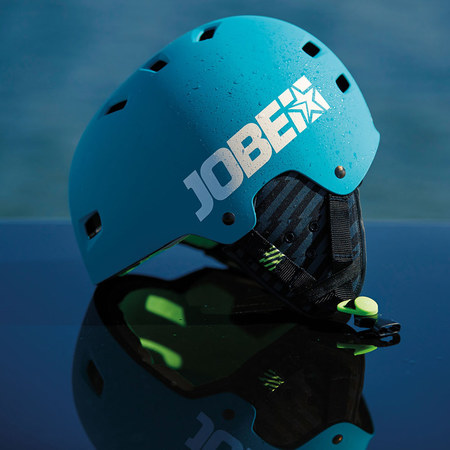 CASQUE JOBE BASE HELMET TEAL BLUE
