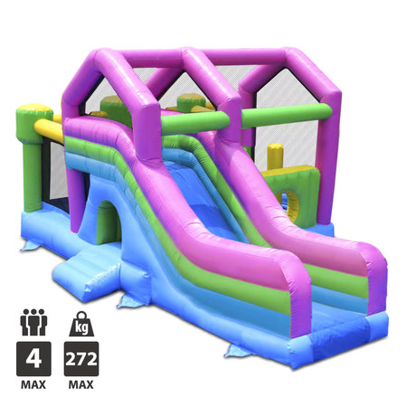 CHATEAU GONFLABLE HAPPY HOP 3 EN 1