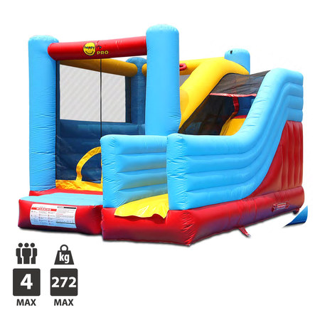 CHATEAU GONFLABLE HAPPY HOP SUPER BOUNCER N SLIDE