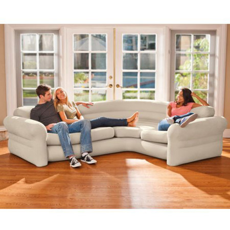CANAPE GONFLABLE INTEX CORNER SOFA 68575NP