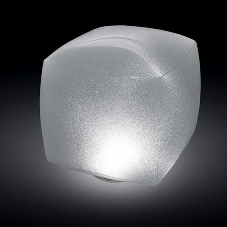 LAMPE CUBE FLOTTANTE A LED INTEX 28694