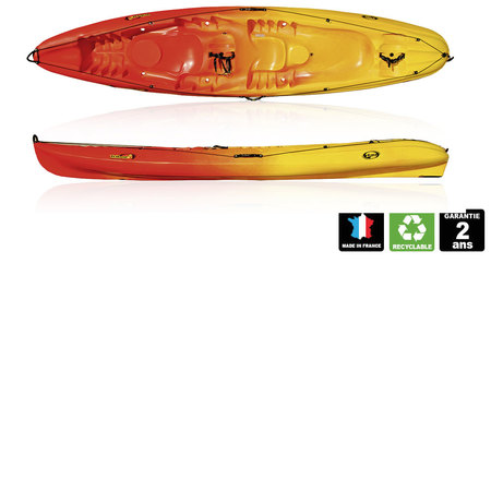 KAYAK DAG TRIBAL OCEAN ROUGE/JAUNE